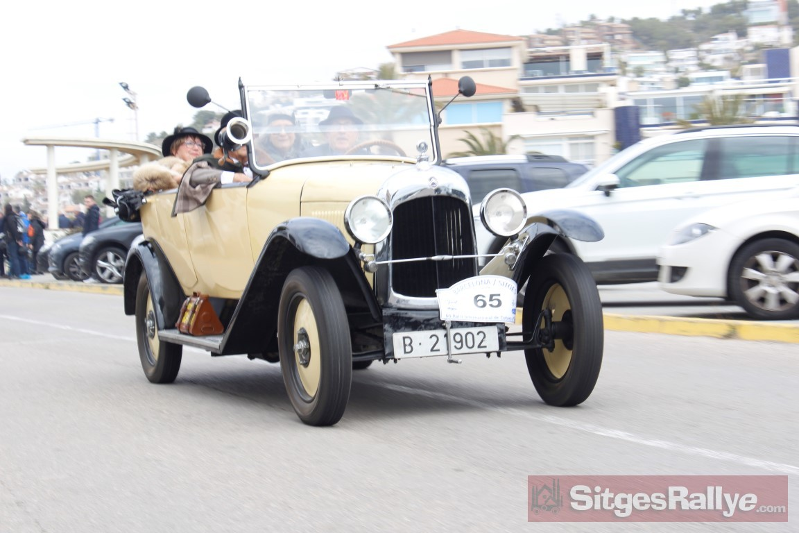 Barcelona to Sitges Vintage Car Rally
